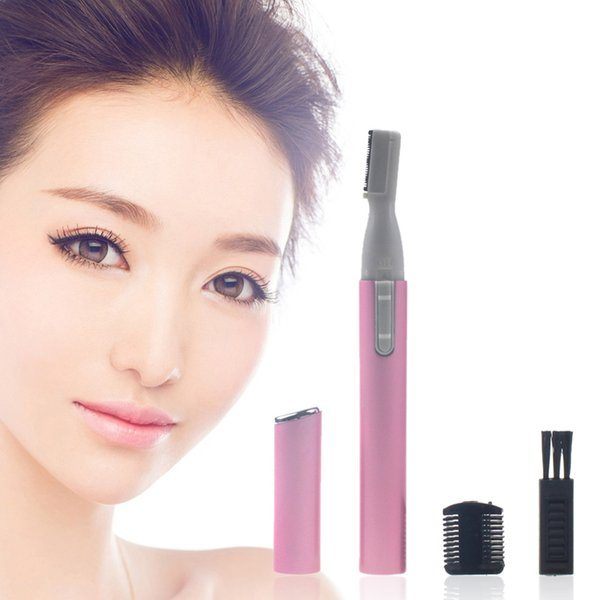 Portable Eyebrow Electric Trimmer Female Bikini String Trimmer Face Hair Removal Ladies Epilator Depilation Trimming Machine