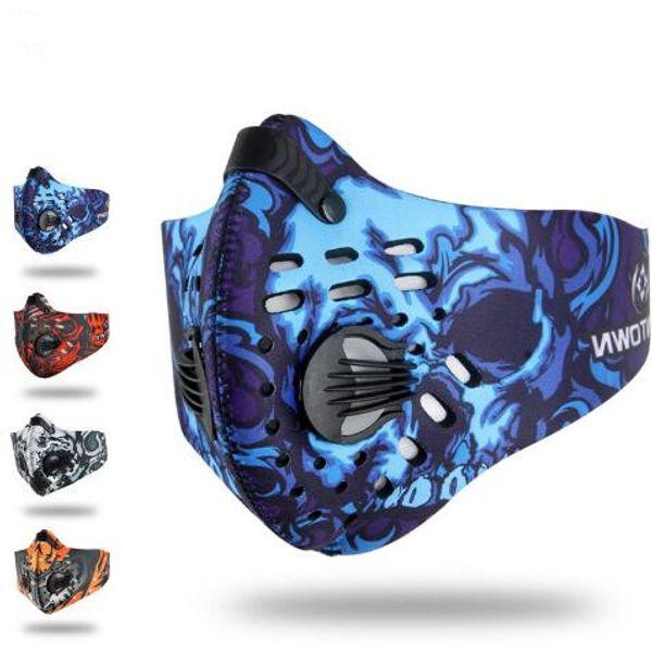 4 Colors Ninja Masks Barakra Hat Cycling Caps Motorcycle Windproof Sunscreen Dust CS Mask Tactics Section Breathable Headset CCA6766 100pcs
