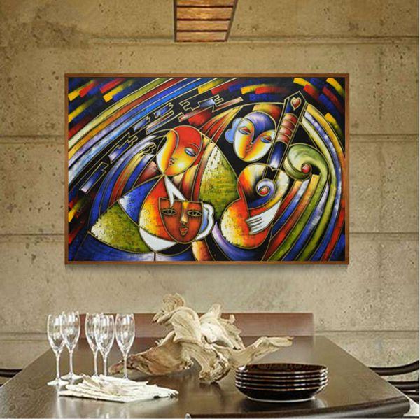 Acheter Tableaux Célèbres Clown Picasso Peinture