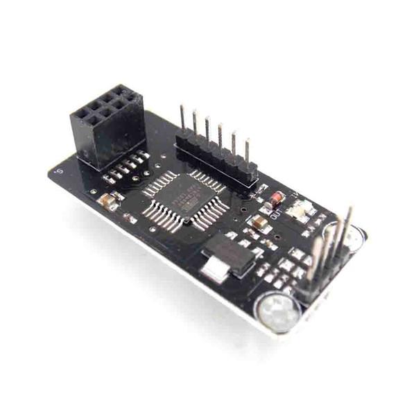 ATMEGA48 + NRF24L01 + Kablosuz Kalkan Modülü SPI IIC I2C TWI Arayüzü