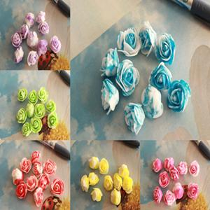 Free Shipping Artificial Rose Flower Silk Flower Real Touch Home Decorations For Wedding Party Christmas 200 Pcs/Lot Hot Sale Various color