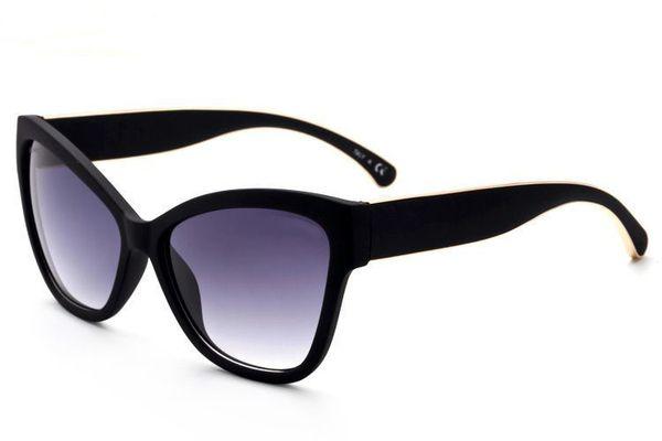 Célèbre original design femmes cat eye lunettes de soleil vintage rétro cateye monture lunettes femme Ms lunettes femme mujer