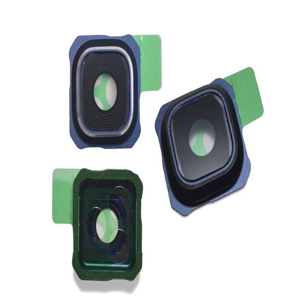 500 pcs camera vidro tampa da lente para samsung galaxy s5 s6 borda g9200 g9250 s6 edge plus g9280 nota 5 s7 borda substituição parte livre dhl