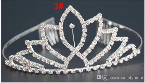 Высокое качество свадебные тиара Корона лентой Кристалл Корона Hairband волос гребень ювелирные изделия для свадьбы Бесплатная доставка