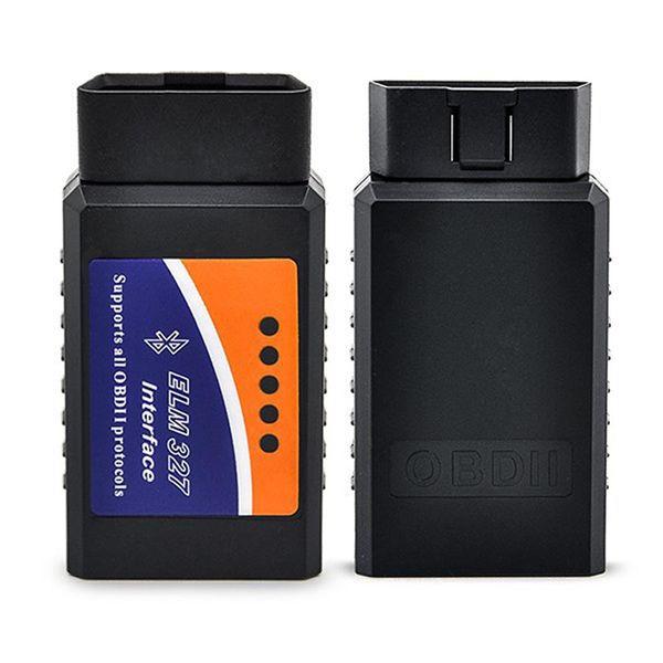 ELM327 WIFI / Bluetooth V1.5 OBD II Wi-Fi ELM 327 Herramienta de diagnóstico del coche Escáner OBD Escáner de interfaz OBD2 Al por mayor 100pcs / lot DHL libre