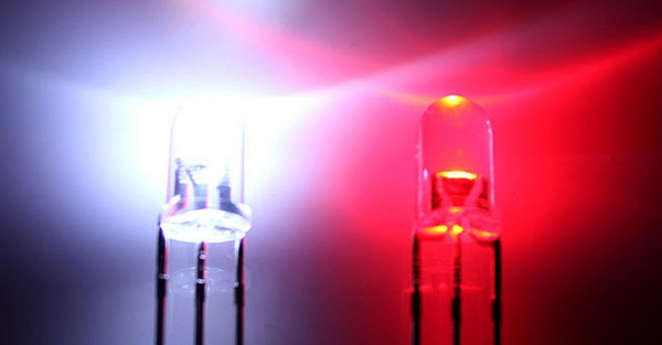 Through Hole Water Clear Bicolor Biocolor 5mm Red/White LED Diode Light Beads ROHS Common Anode/Cathode
