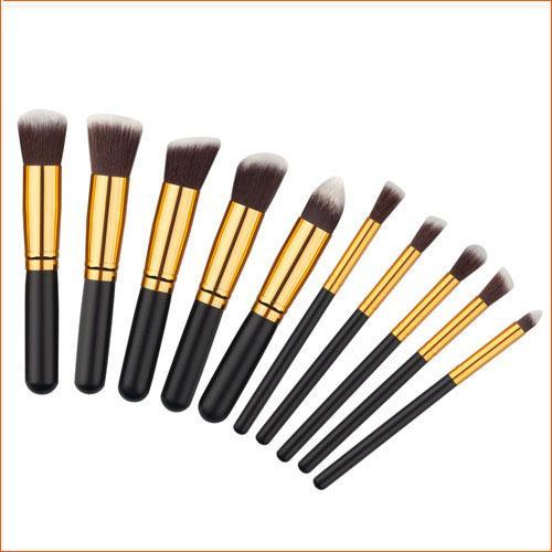 5 Ensembles Pinceaux De Maquillage Outils Ensembles 10 pcs Maquillage Pinceaux Set Professionnel Portable Plein Pinceau Cosmétique Pinceau À Paupières Brosse À Lèvres