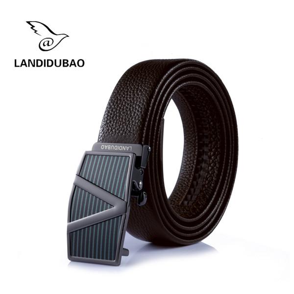 best selling 2016 Brand BOS Belt Mens Belt Luxury Automatic buckle Belts Genuine Leather belts Jeans Belt for Men