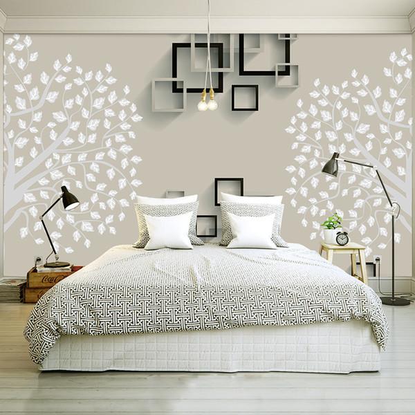 Großhandel Europäische Einfache Luxus Beige Vliesstoff Tapete Für Wand 3 D  Classic Geprägte TV Zimmer Schlafzimmer Tapeten Wohnkultur Von Yomanmural,  ...