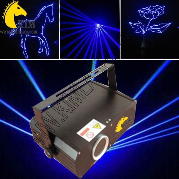 ILDA 500mW luce laser blu animazione con SD Card / 30kpps luce laser blu per proiettore partito / logo / illuminazione per vacanza