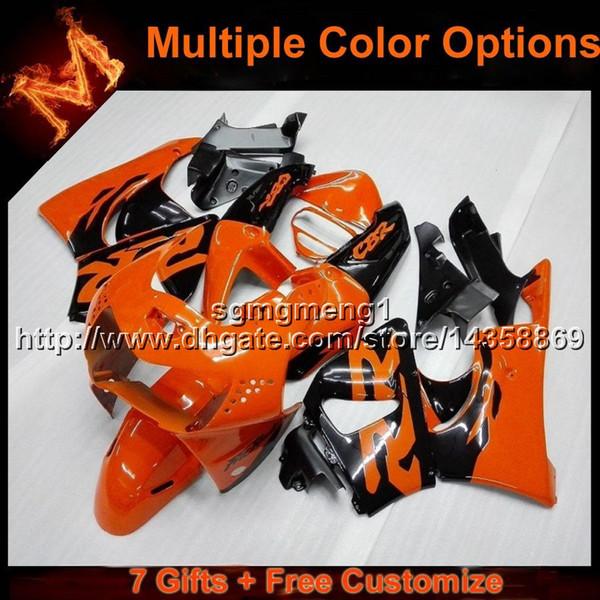 23 farben + 8 geschenke orange motorradhaube für honda cbr919rr 1998-1999 cbr 900rr 919 98 99 gelb schwarz aftermarket verkleidung