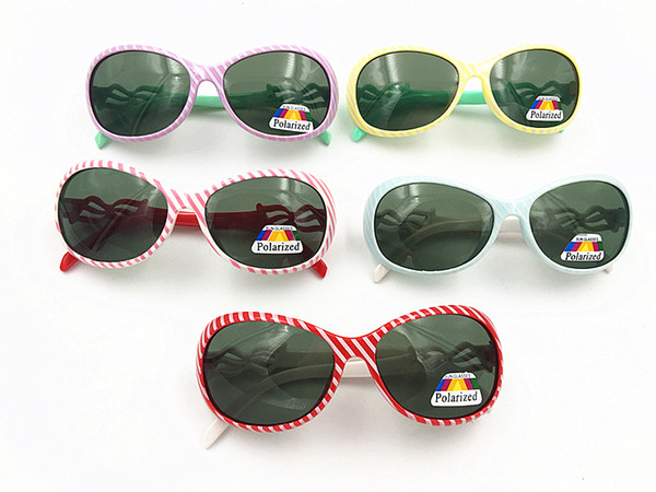 Fashion Kids Polarized Sports Sun Glasses Sunglasses Baby For Girls Boys Outdoor Designer Sunglasses Candy 5 Colors 24pcs/lot Free Shipping