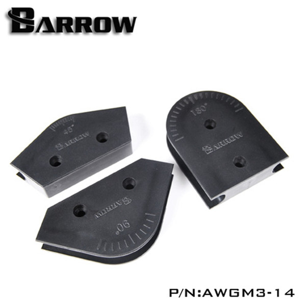 Wholesale- OD14mm Barrow Acrylic / PMMA Hard Pipe Bending Mould Kit For Hard Tube Computer Water Cooling AWGM3-14