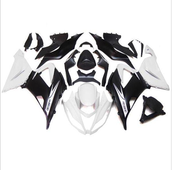 3 kostenlose geschenke Neue Heiße ABS motorrad Verkleidung kits 100% Fit Für Kawasaki Ninja ZX-6R 636 2013 2014 2015 ZX636 13 15 Weiß schwarz vvA