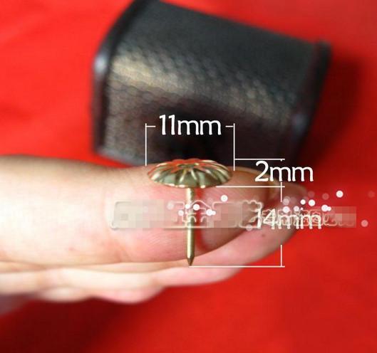 Hardware supplies furniture &hardware accessories 9MM*16MM diameter antique bubble nail bubble sofa nail decorative tack