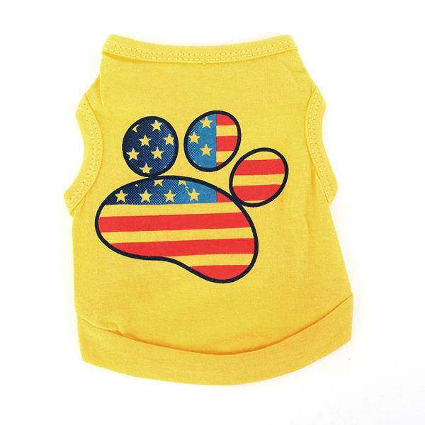 Small Dog Puppy Apparel Summer Vest Tee T-shirt Tops Pet Dog Clothes Costume