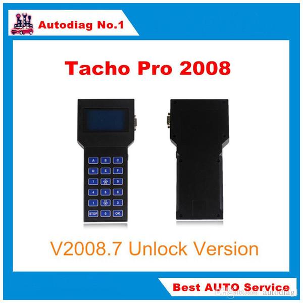 Full Set Universal Tacho Pro Mileage Correction Tool Tacho Pro 2008 Unlock Version Odometer Correction Tacho Programmer DHL Free