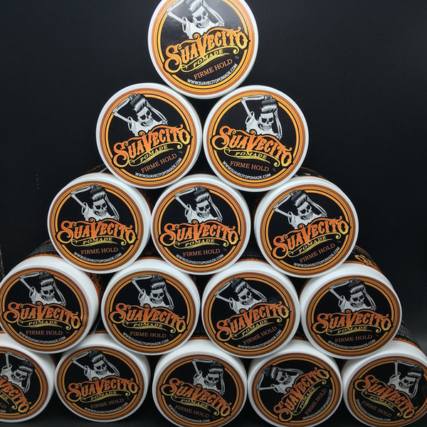 best selling Factory price Suavecito Pomade Strong style restoring Pomade wax big skeleton slicked back hair oil wax mud keep hair pomade for men