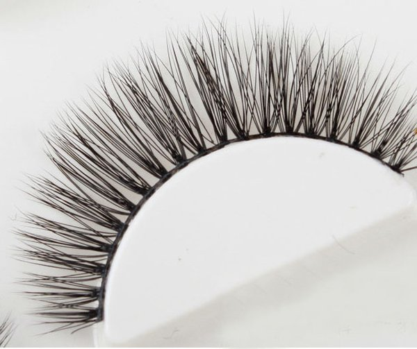 Pure Handmade Fake Eyelash 30Pairs/Lot 3D Mink Eyelash Real Mink Handmade Crossing Lashes Individual Strip Thick Lash Fake Eyelashes 103#