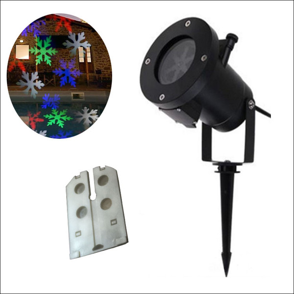 RGBW 12 designs Auto Moving Colorful design Christmas Holiday Lights Outdoor Waterproof Projection Lights LED laser lighting projector