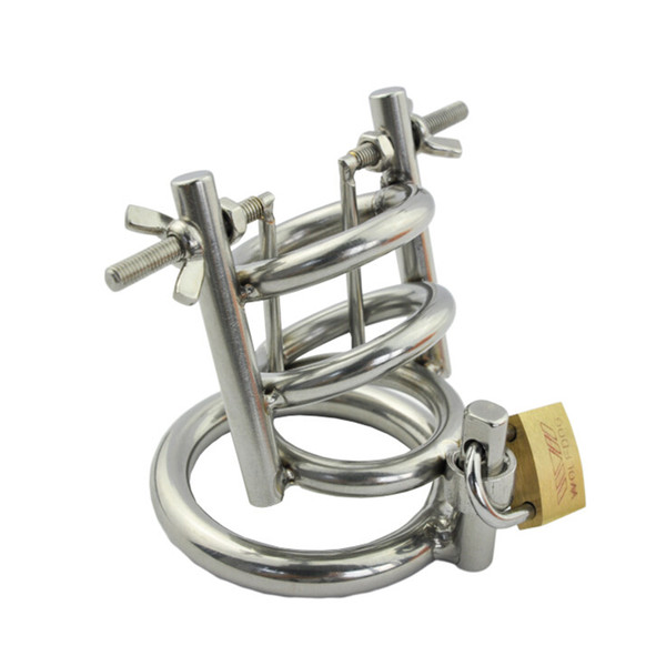 Professional Adjustable Male Urethral Stretcher Penis Urethra Exploration Stainless Steel Chastity Devices metal cock cage Sex Toys for Men