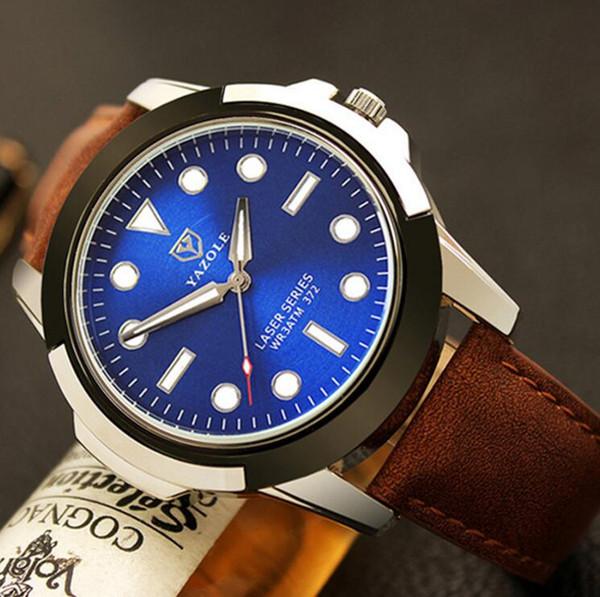 Brwon blue dial
