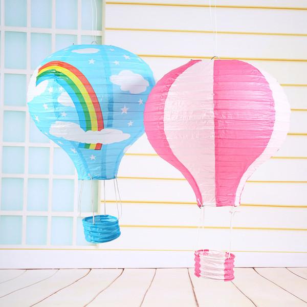 "Hot Air Balloon 12""/30CM Hot Air Balloon Paper Lanterns For Wedding Festival Party Decor"
