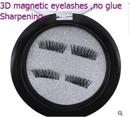 Newest Top quality 3 D magnetic free of false eyelash glue sharpen natural and comfortable soft