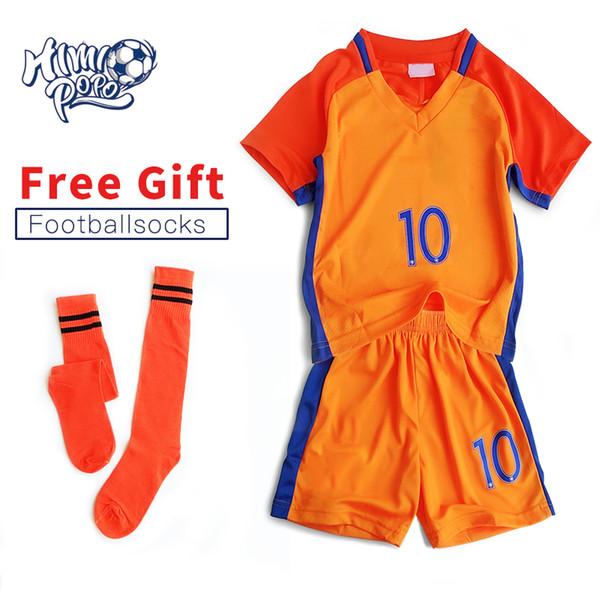 Kits de fútbol para niños Juegos de fútbol para niños Uniformes de fútbol  Futbol Training Suits 4bc881222d5da