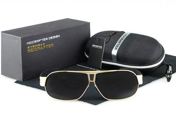 2a20d878dce2 Polarized sunglasses Men 's toad mirror Sunglasses Metal polarizer E027