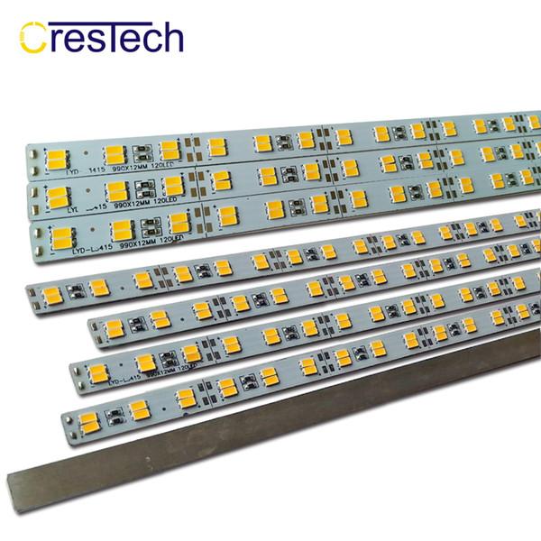 Tira de luces de barra LED DC12V 994 * 12MM 12W / Medidor SMD5730 Tira de LED 72LED por metro Blanco frío 7000-9000K DC12V Tira rígida de LED