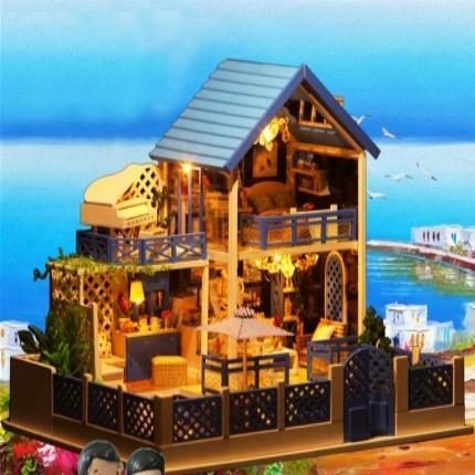 Model house building set