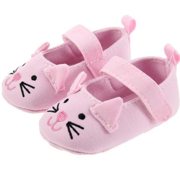 Großhandel Babyschuhe Blumendesign Neue Mädchen Aus Weichem Leder Loafer Kinderschuhe Atmungsaktive Prinzessin Schuhe Kids Toddler Little Von