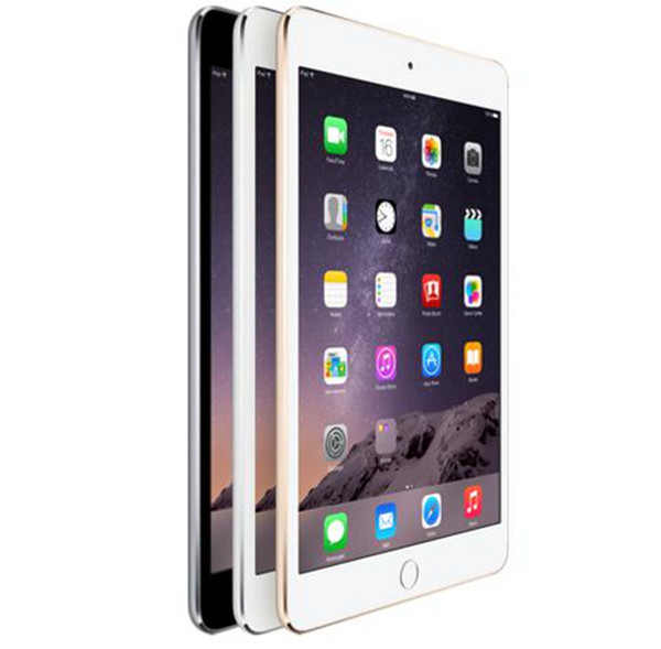 top popular Refurbished iPad mini 3 16GB 64GB Wifi Original IOS Tablet A7 7.9 inch with Touch ID Tablet PC 2020
