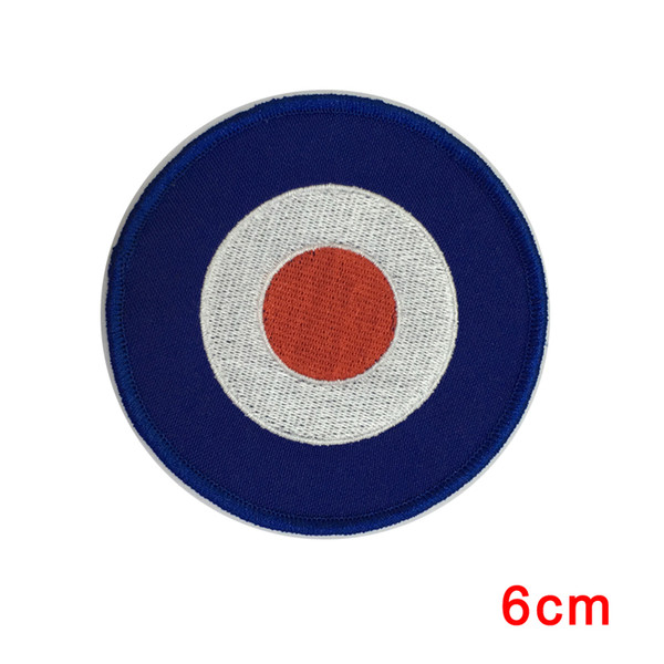 Mod Target Great Britain Mods UK Patch round circular NEU patch for Jacket Jeans Clothing Badge DIY Apparel Accessories