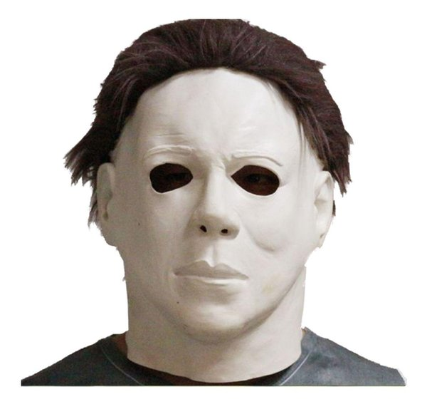 Top Grade 100% Latex Scary Michael Myers Mask Style Halloween Horror Mask Latex Fancy Party Horror Movie Party Cosplay free shipping