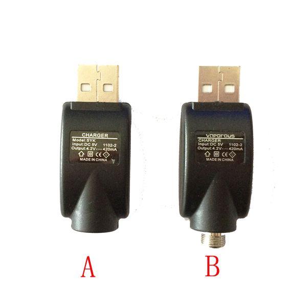 e cig eGo USB Vape Cargador Adaptador CE3 O-Pen Batería Cargador USB inalámbrico para Vape Pen eGo 510 Thread Bud Touch CE3 Batería
