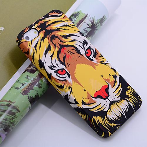 New Glow in the dark Luminous king of forest lion wolf TPU Silicon case Soft cover For iPhone6 6s plus 7 7plus