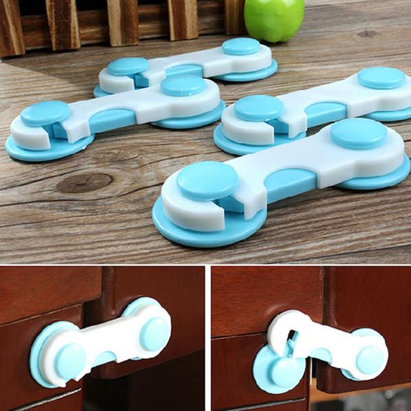 Baby Care 6pcs Set Door Door Guardaroba Todder Kids sicurezza per bambini Plastic Lock Blue Edge Corner Guards