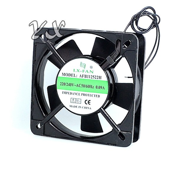 free shipping high quality The new control panel dedicated axial fan AFB112522H 220V IPC enclosures fan 60*60*25mm