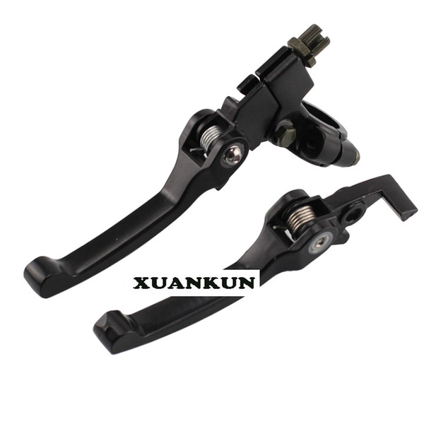 best selling Off-road Motorcycle Modified Parts Anti-fall Folding Handle To Clutch The Handle