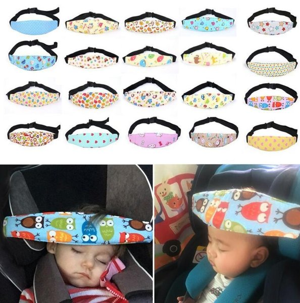 top popular Baby Infant Auto Car Seat Support Belt Safety Sleep Head Holder For Kids Child Baby Sleeping Safety Accessories Baby Care KKA2512 2021