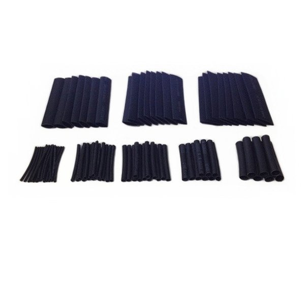 150pcs 8 Sizes 1.0-13.0mm Assortment Heat Shrinkable Tube Shrink Tubing Sleeving Wrap Wire Cable Kit