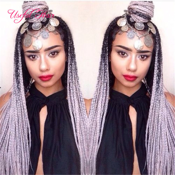 Wholesale JUMBO BRAIDS MARLEY braids Premium 24inch SYNTHETIC braiding hair ombre color hair extensions crochet braids hair for women US,UK
