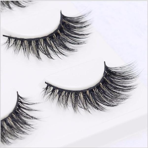 3pairs/box Sexy 100% Handmade 3D mink hair Beauty Thick Long False Mink Eyelashes Fake Eye Lashes Eyelash High Quality Free shipping 3D-05