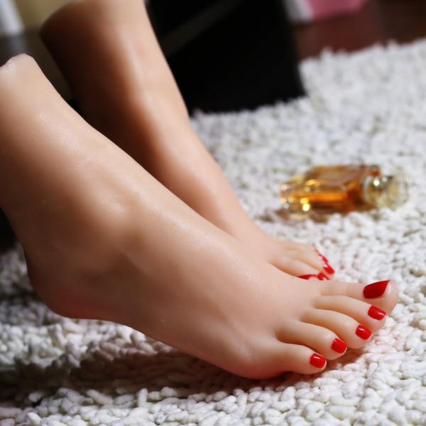 Großhandel 1 Para Neue Süße Mädchen Klon Schaufensterpuppe Fuß Silikon Lebensechte Display Schuhe Luxus Hohe Qualität Von Mayaru1, $103.52 Auf