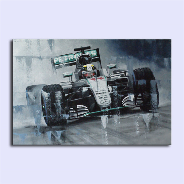 Lewis Hamilton II,Home Decor HD Printed Modern Art Painting on Canvas (Unframed/Framed)