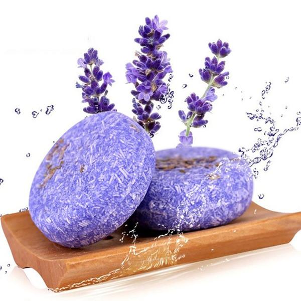 Hot Handmade Hair Shampoo Magic Soap Pure Natural Shampoo Soap Control de aceite Anti-caspa fuera del cuidado del cabello