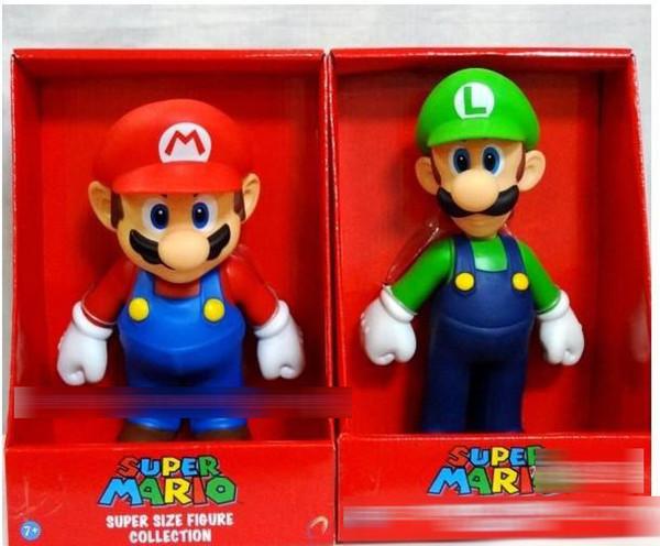 Mario Bros PVC Action figures Toys mario Luigi Koopa Troopa and Mushroom figure free shipping E1919