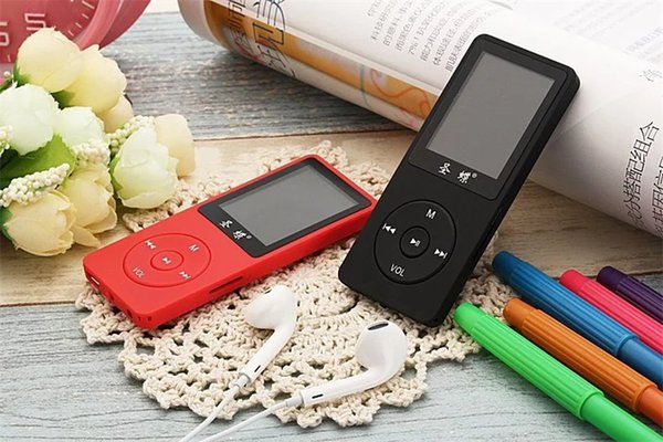 "Original JS-01Mini Super-long standby 4GB HiFi Loseless MP4 Music Player 1.8"" Screen with E-book Video Play FM Voice Recorder MP3 Player"
